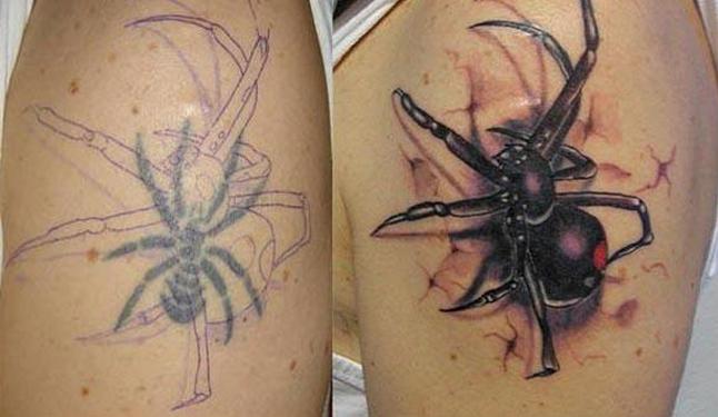 arana-tatuaje