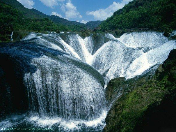Cascada de Yinlianzhuitan