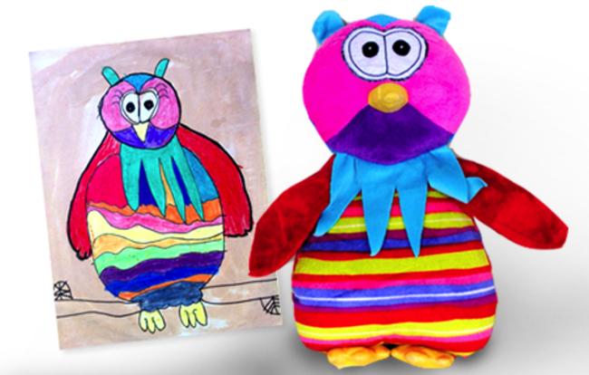 dibujos infantiles a peluches 16