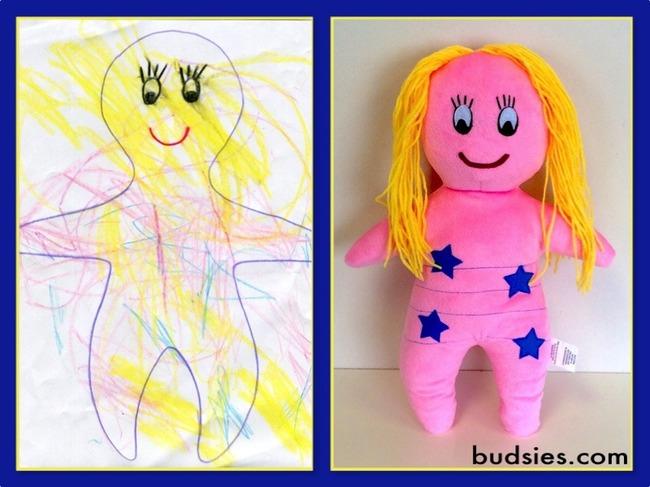 dibujos infantiles a peluches 6