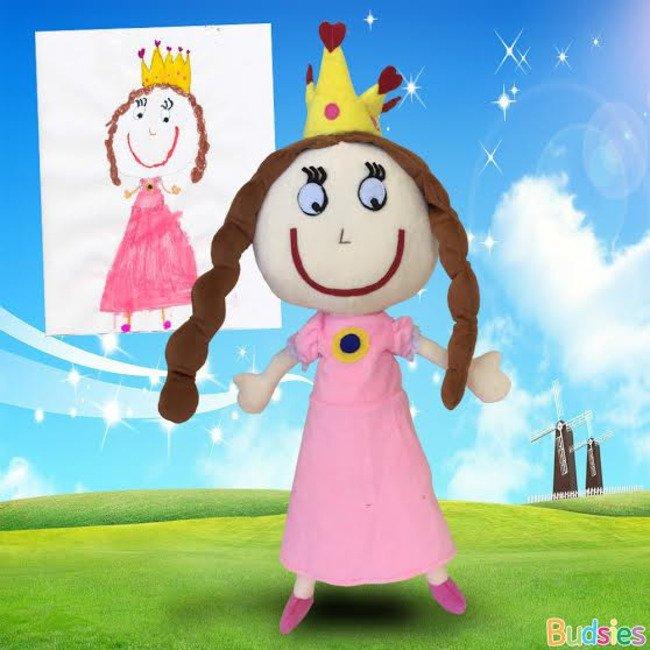 dibujos infantiles a peluches 9