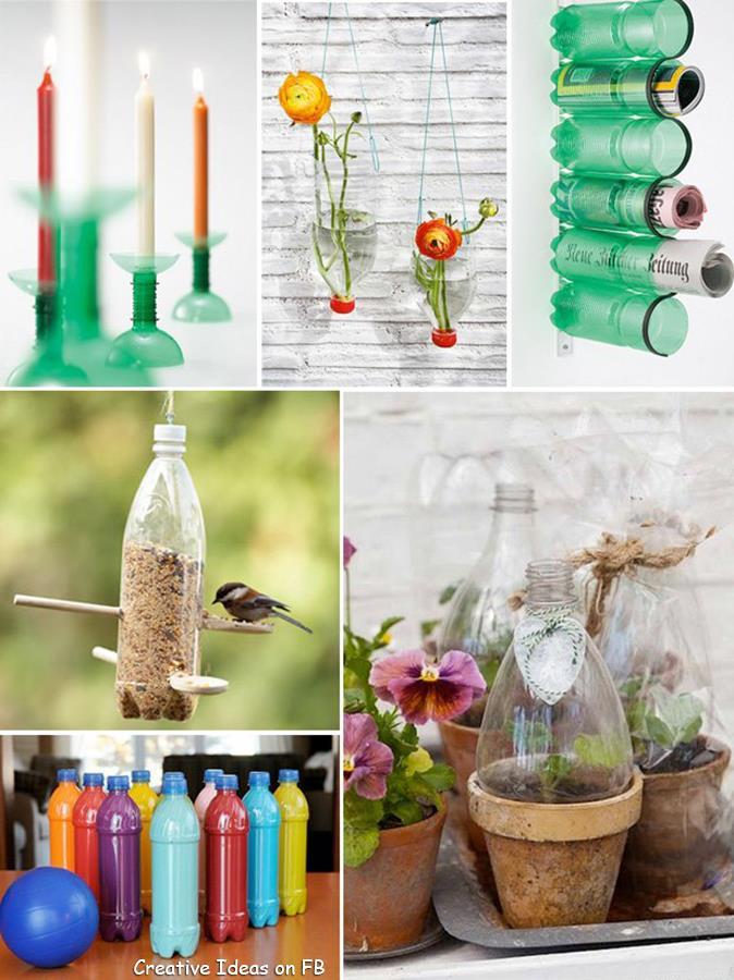 recicla botellas plastico 11