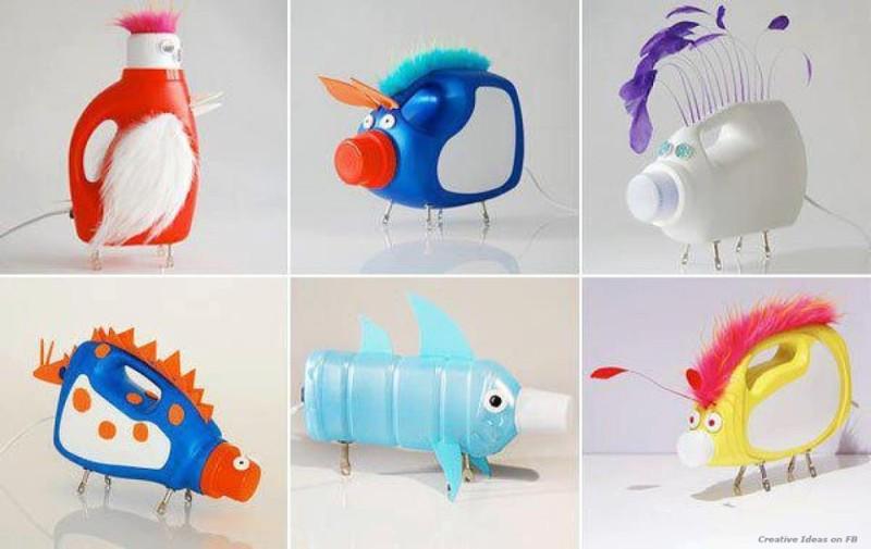 recicla botellas plastico 2