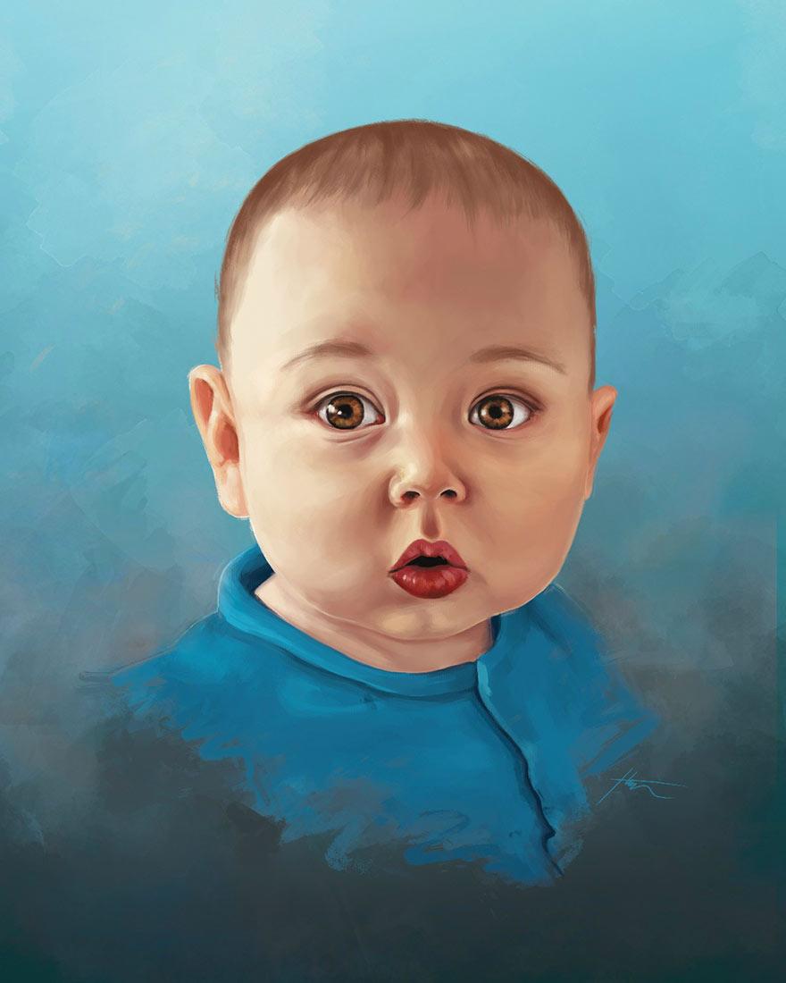 retratos familiares artisticos 16