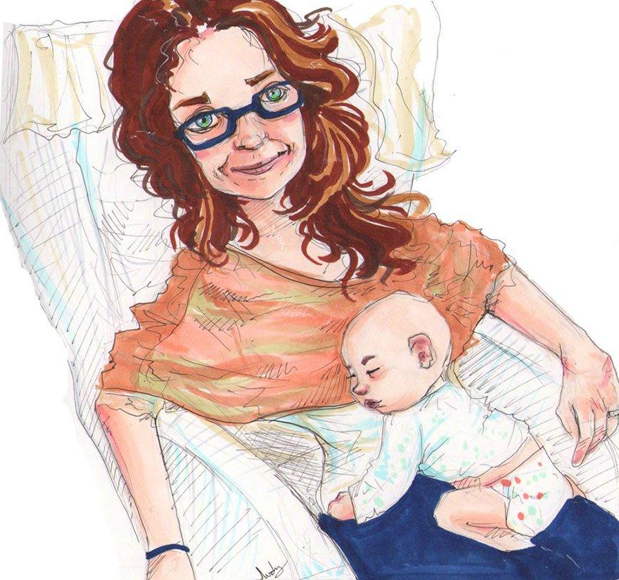 retratos familiares artisticos 7