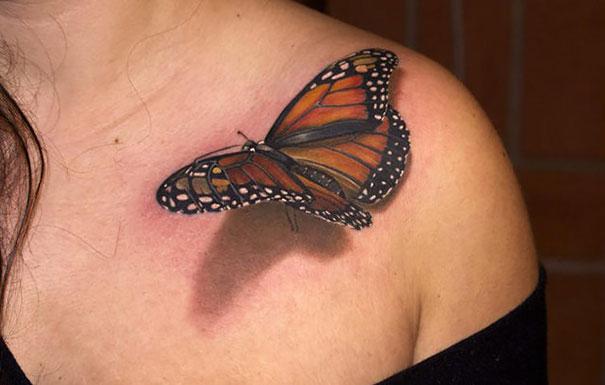 50 impresionantes tatuajes realistas en 3D que te dejarán con la ...