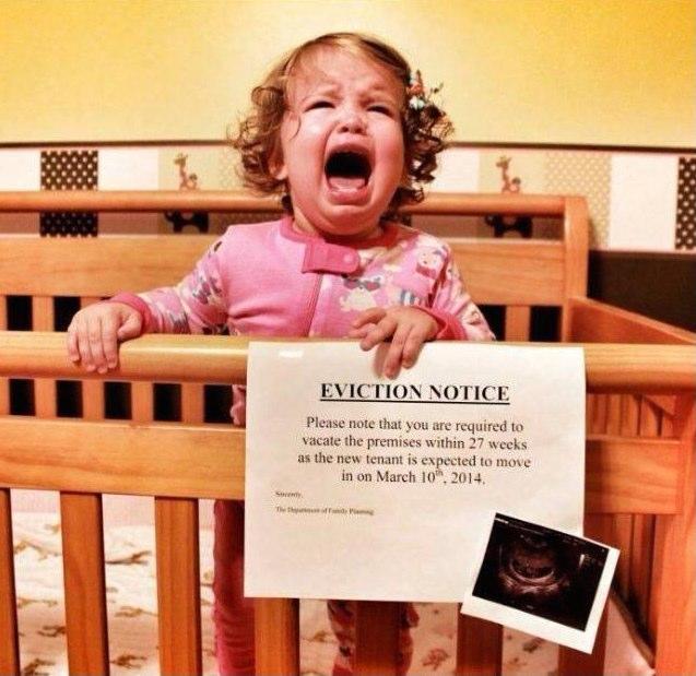 como anunciar la llegada de un segundo hijo