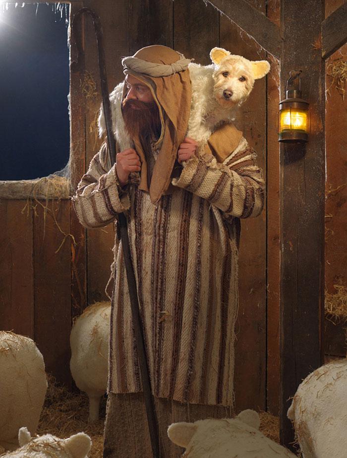 disfraz perro navidad 3