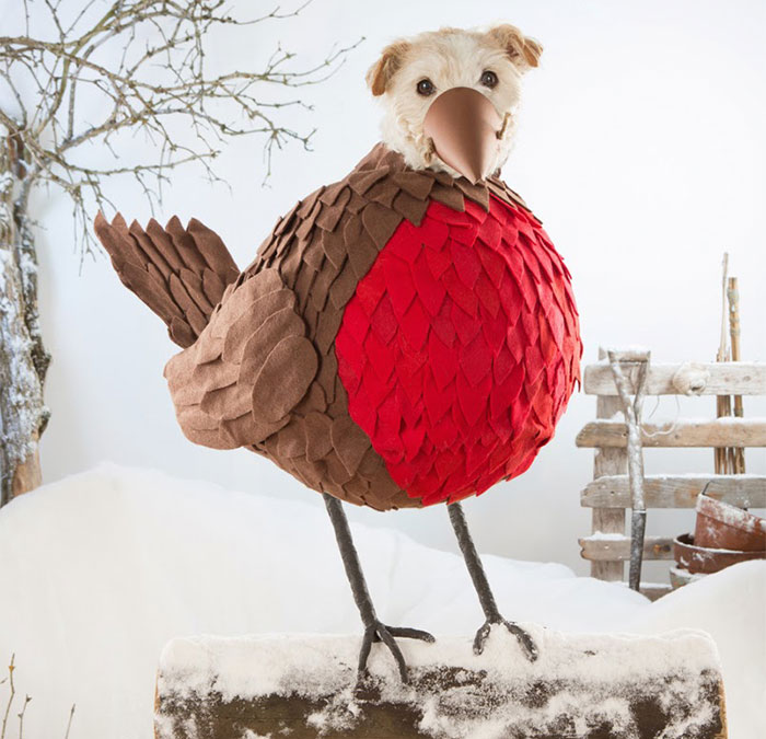 disfraz perro navidad 8