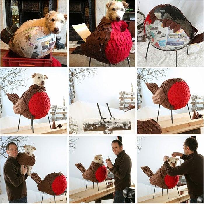 disfraz perro navidad 9