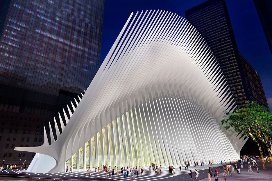 WTC Hub PATH Terminal night_Color.jpg
