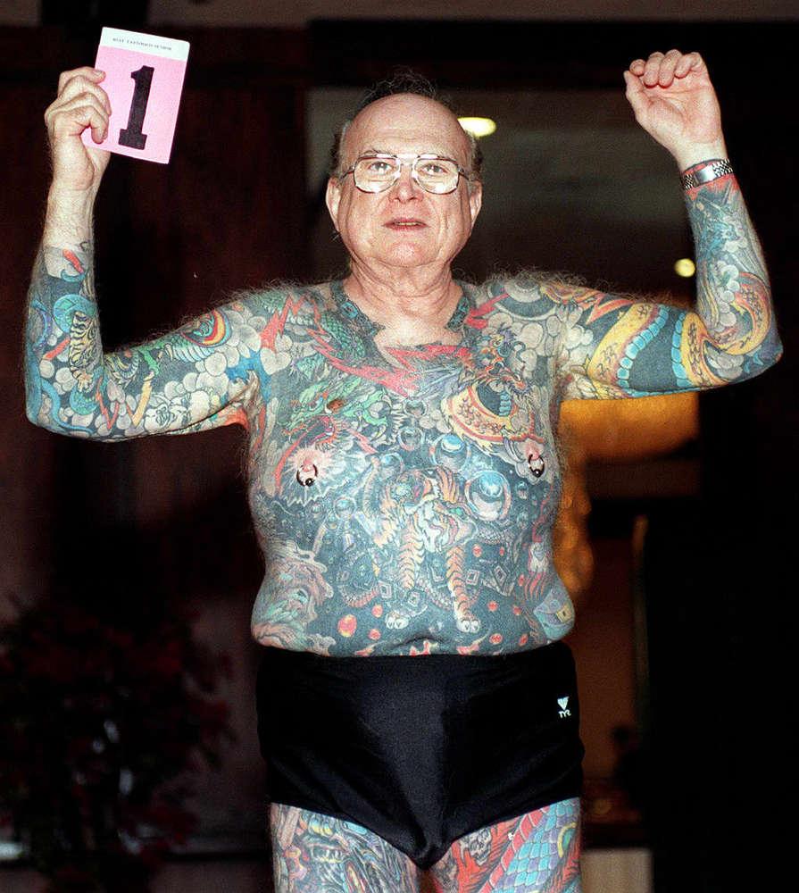 &191Qu&233 Ocurre Con Los Tatuajes Cuando Te Haces Viejo Estas