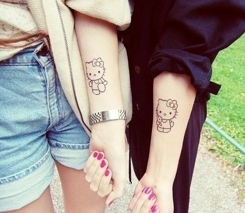 Tatuajes hermanas y hermanos 10