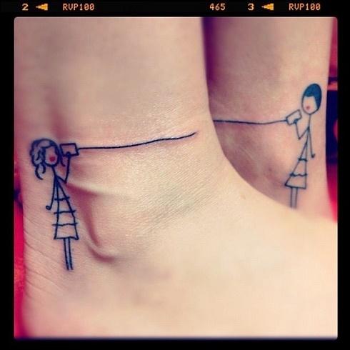 Tatuajes hermanas y hermanos 13