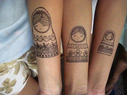 Tatuajes hermanas y hermanos 23