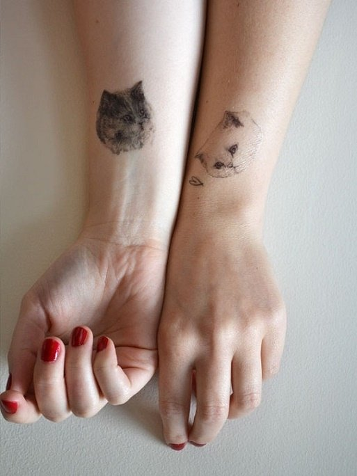 Tatuajes hermanas y hermanos 24