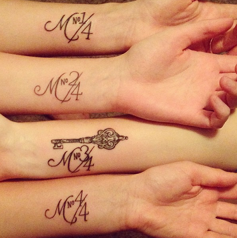 Tatuajes hermanas y hermanos 7