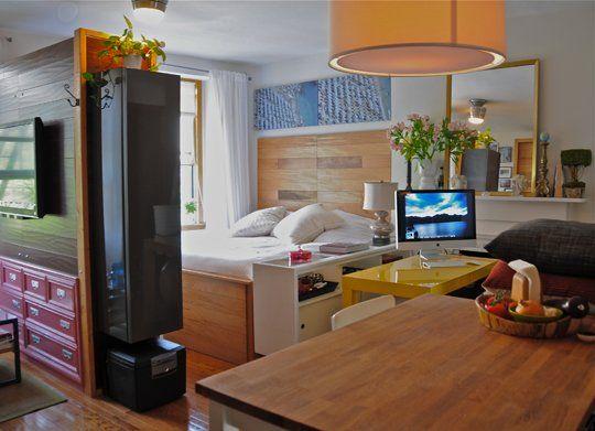 12 alocadas pero prácticas ideas para convertir apartamentos ...