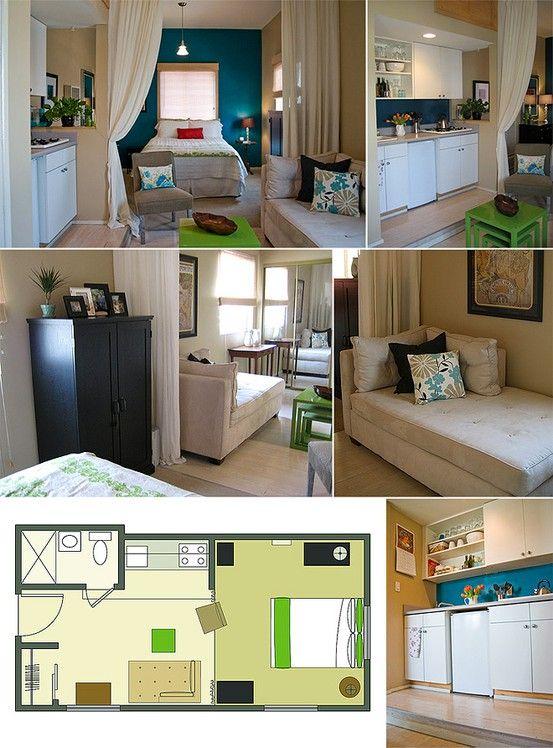 12 alocadas pero pr cticas ideas para convertir for Apartamentos modernos minimalistas