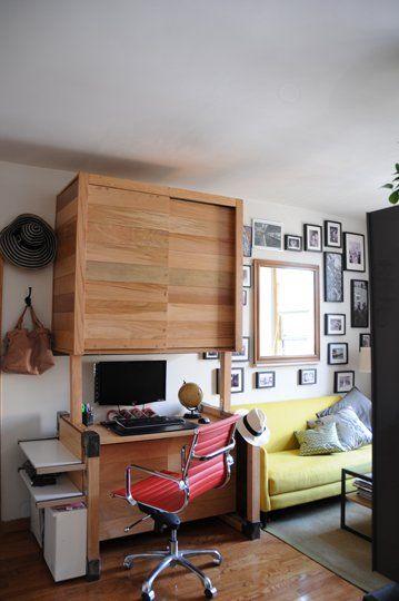 12 alocadas pero pr cticas ideas para convertir for Como organizar un apartamento muy pequeno