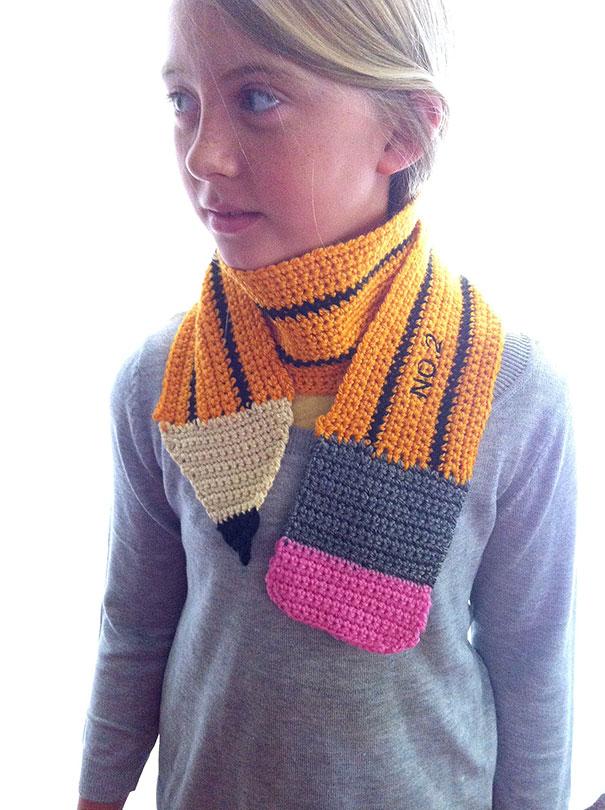 30 originales bufandas que te proporcionarán calor vistiendo a la ...