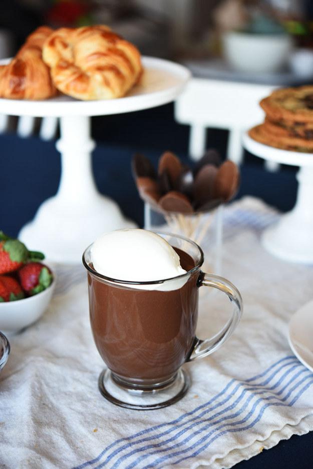 [Foto-Receta] El mejor chocolate caliente del mundo