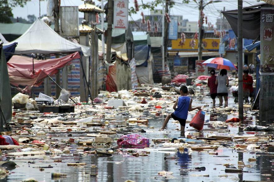 contaminacion en China 12