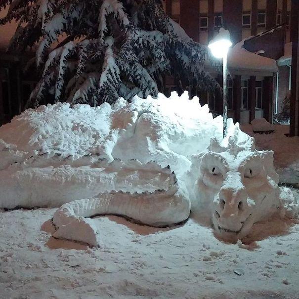 esculturas de nieve2