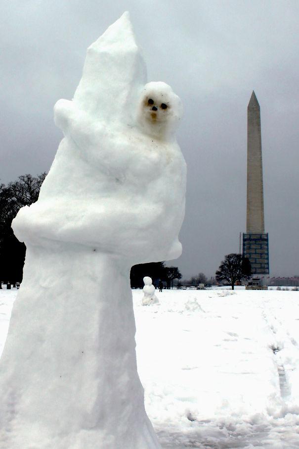 esculturas de nieve24
