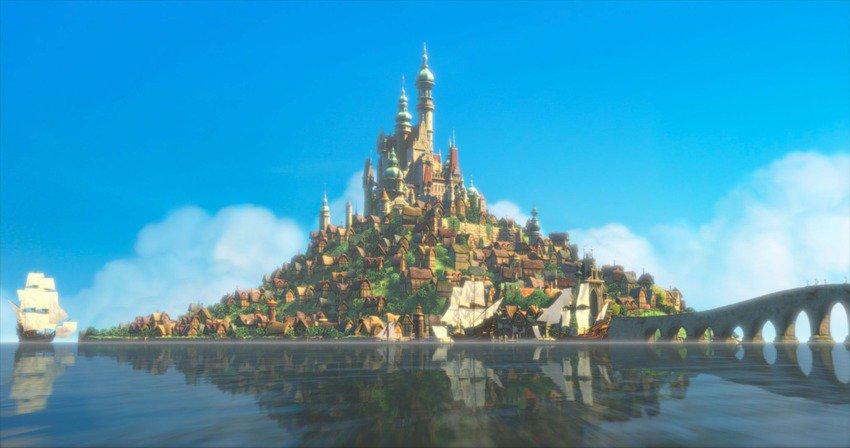 palacios y lugares disney 11