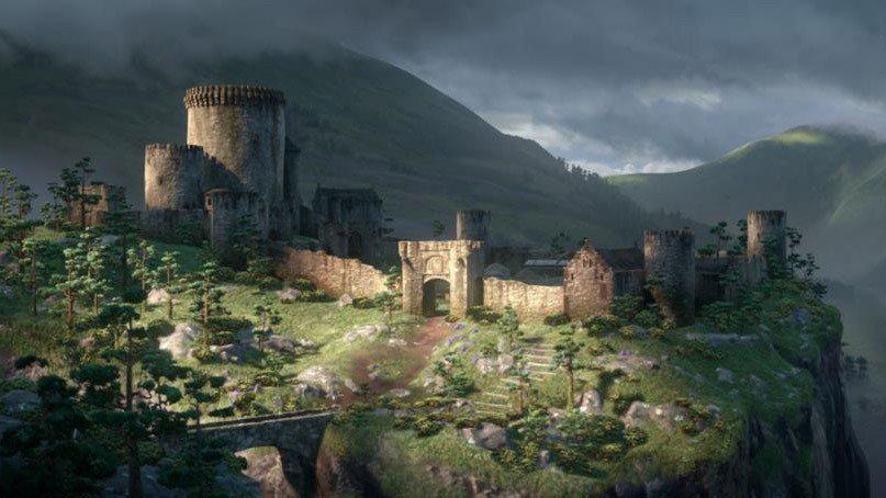 palacios y lugares disney 17