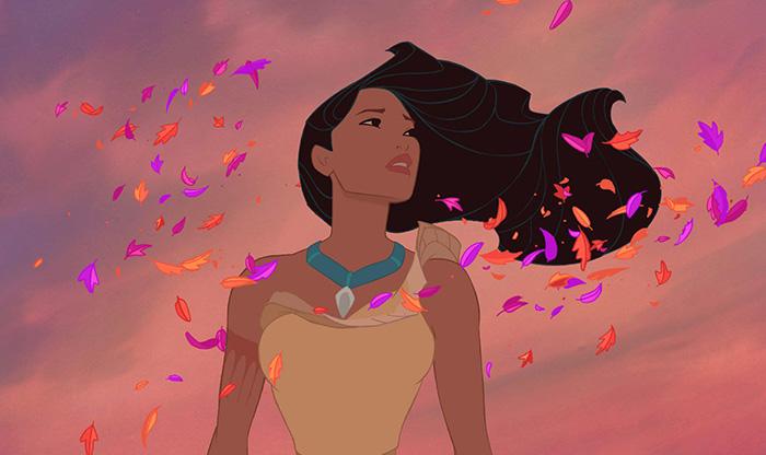 princesas disney con cabello realista 15