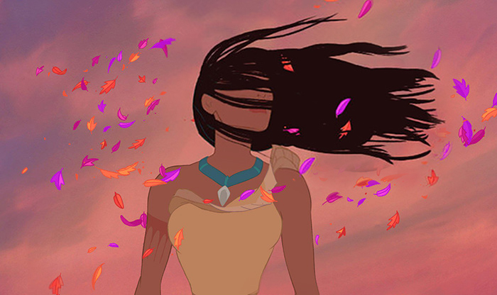 princesas disney con cabello realista 16