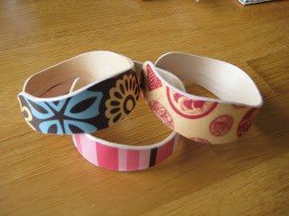 pulseras con palitos de helado 6
