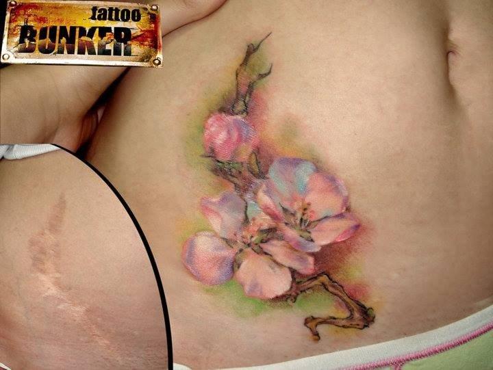 tatuajes en cicatriz 23