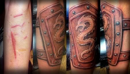 tatuajes en cicatriz 7