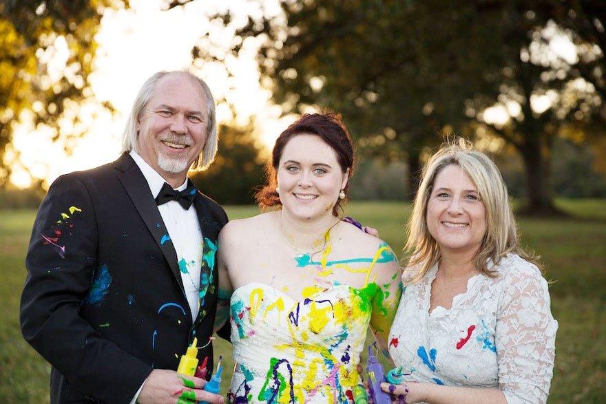 vestido boda pintura 10