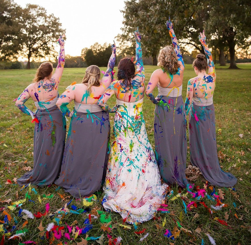 vestido boda pintura 17