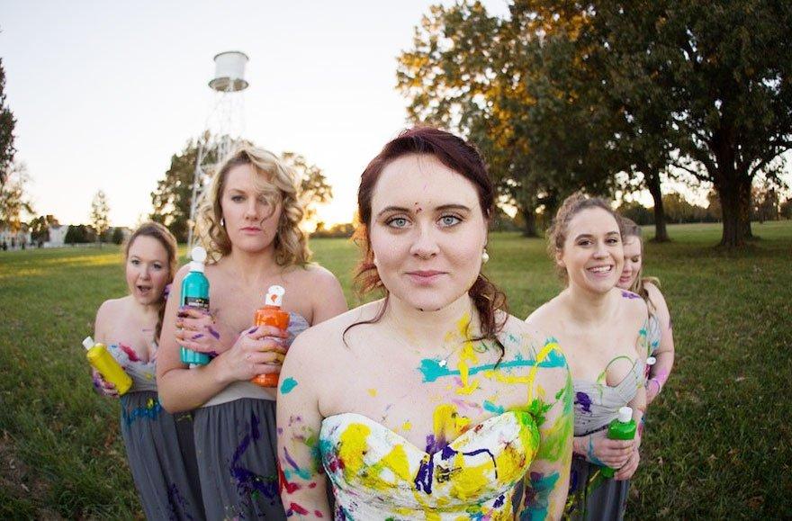 vestido boda pintura 2