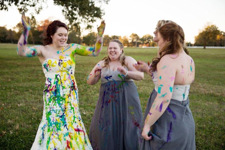 vestido boda pintura 7