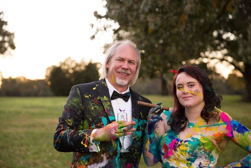 vestido boda pintura 8