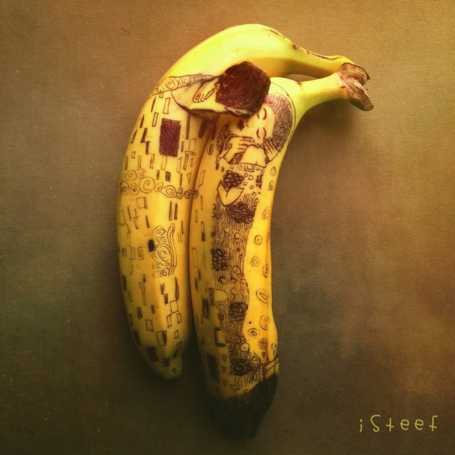 Obra de Arte en Banana