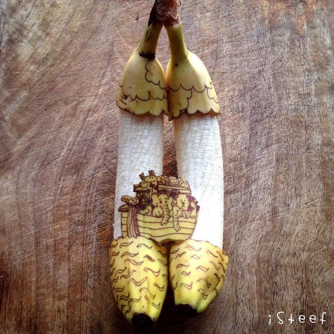 arte en bananas 2