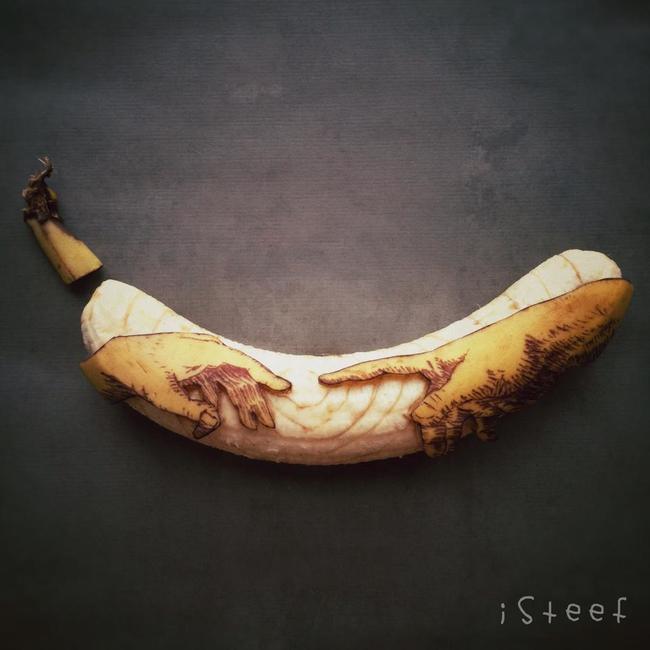 arte en bananas 6