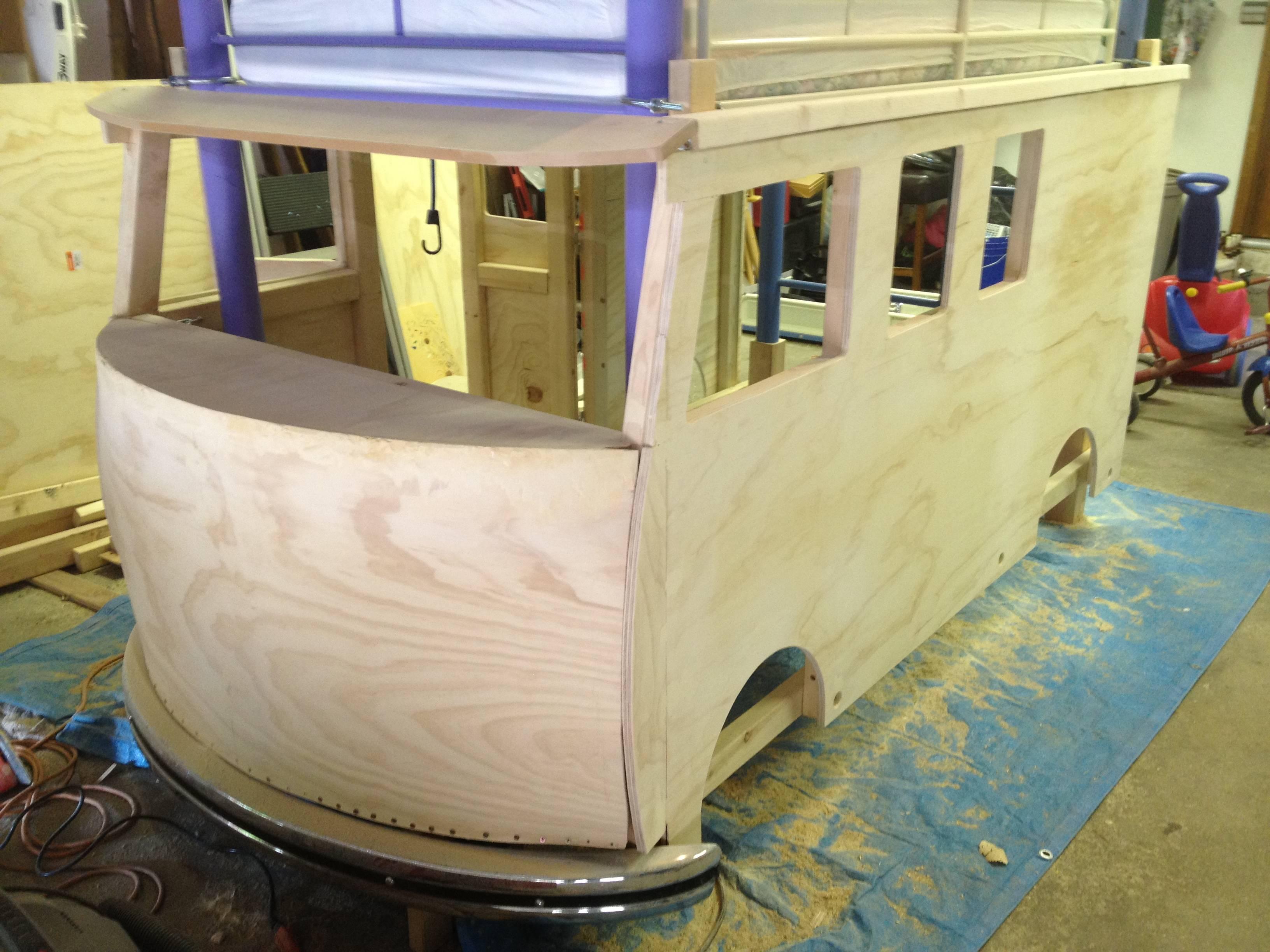 cama furgoneta infantil 11