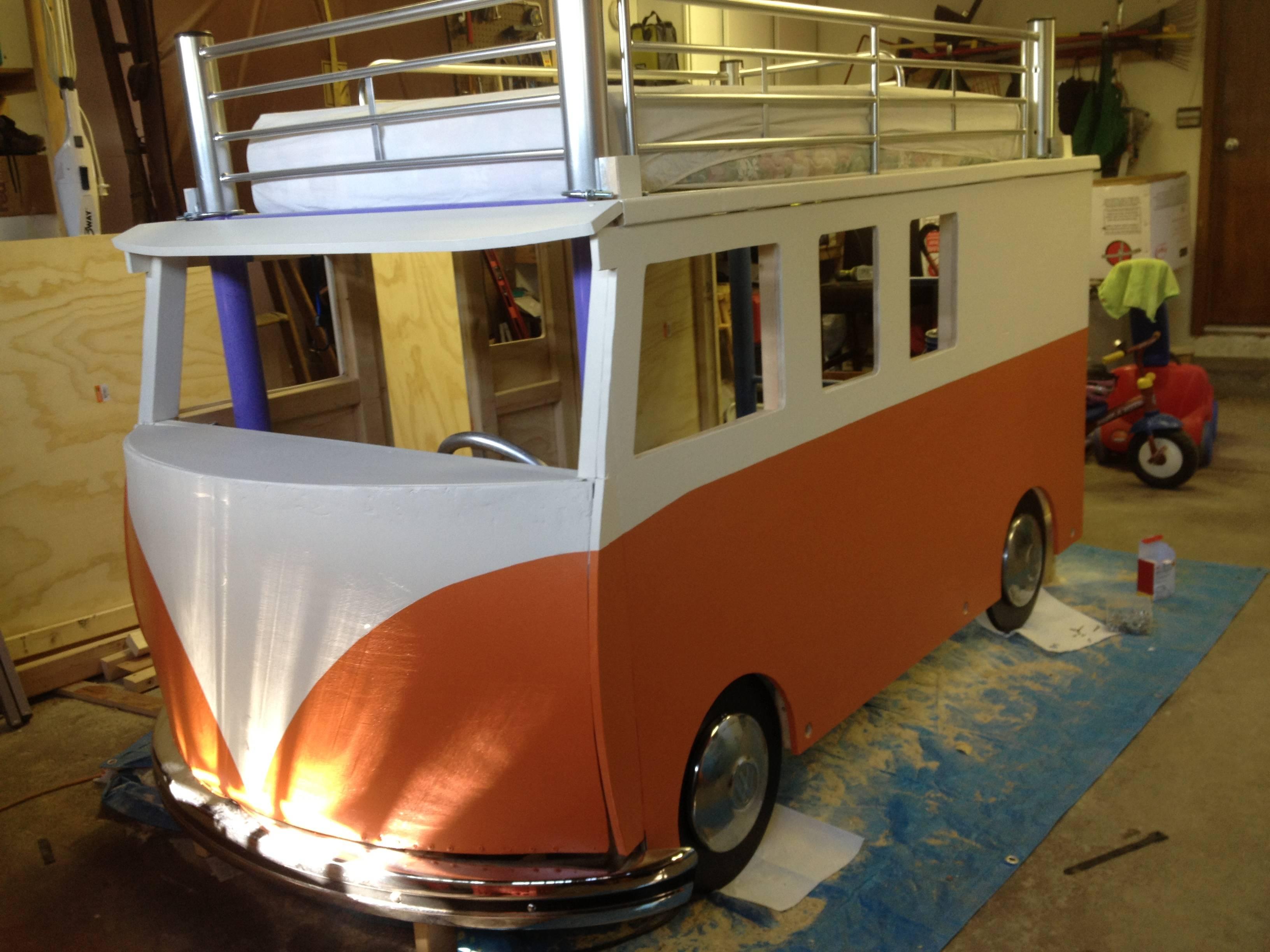 cama furgoneta infantil 13