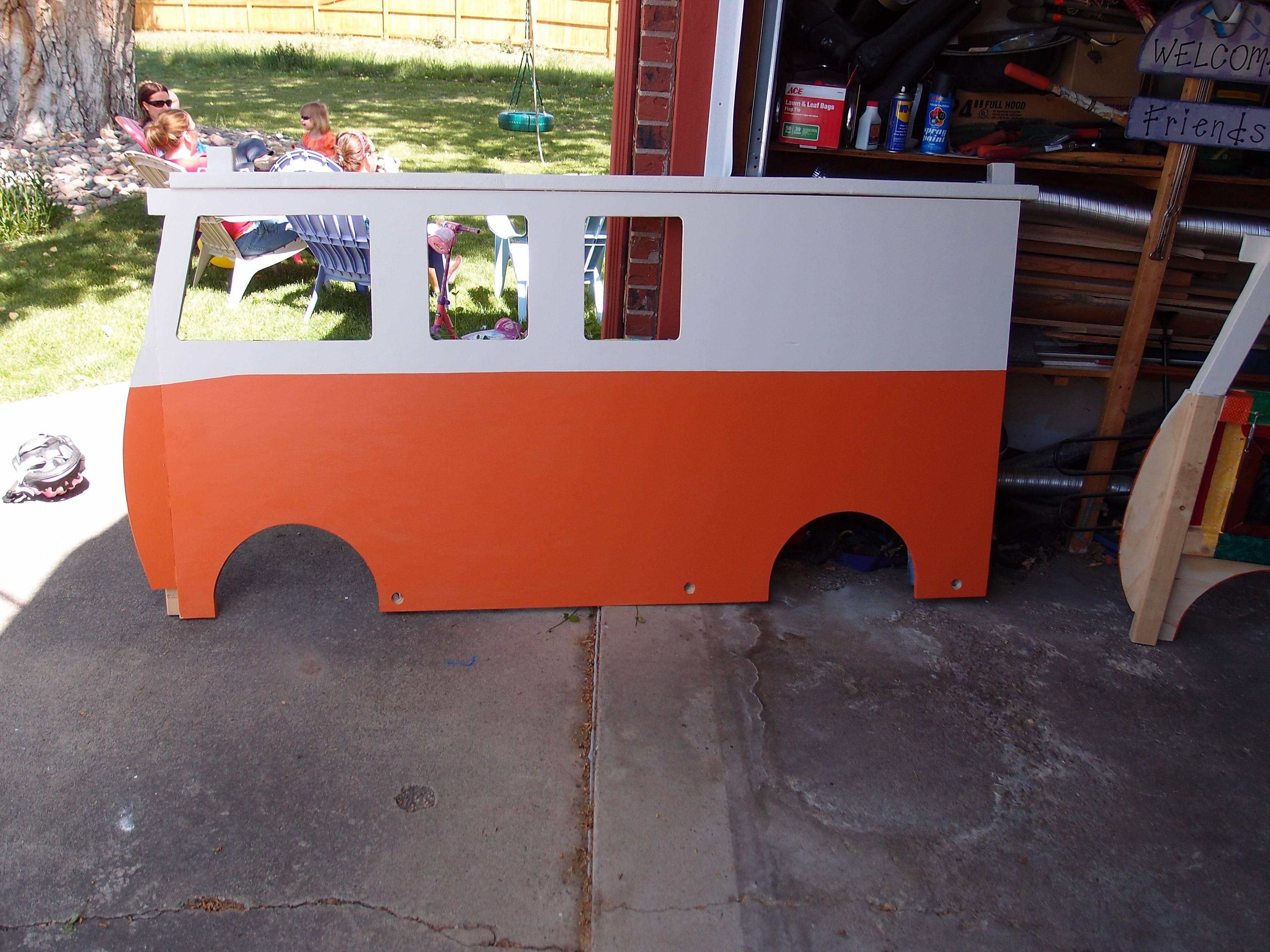 cama furgoneta infantil 23