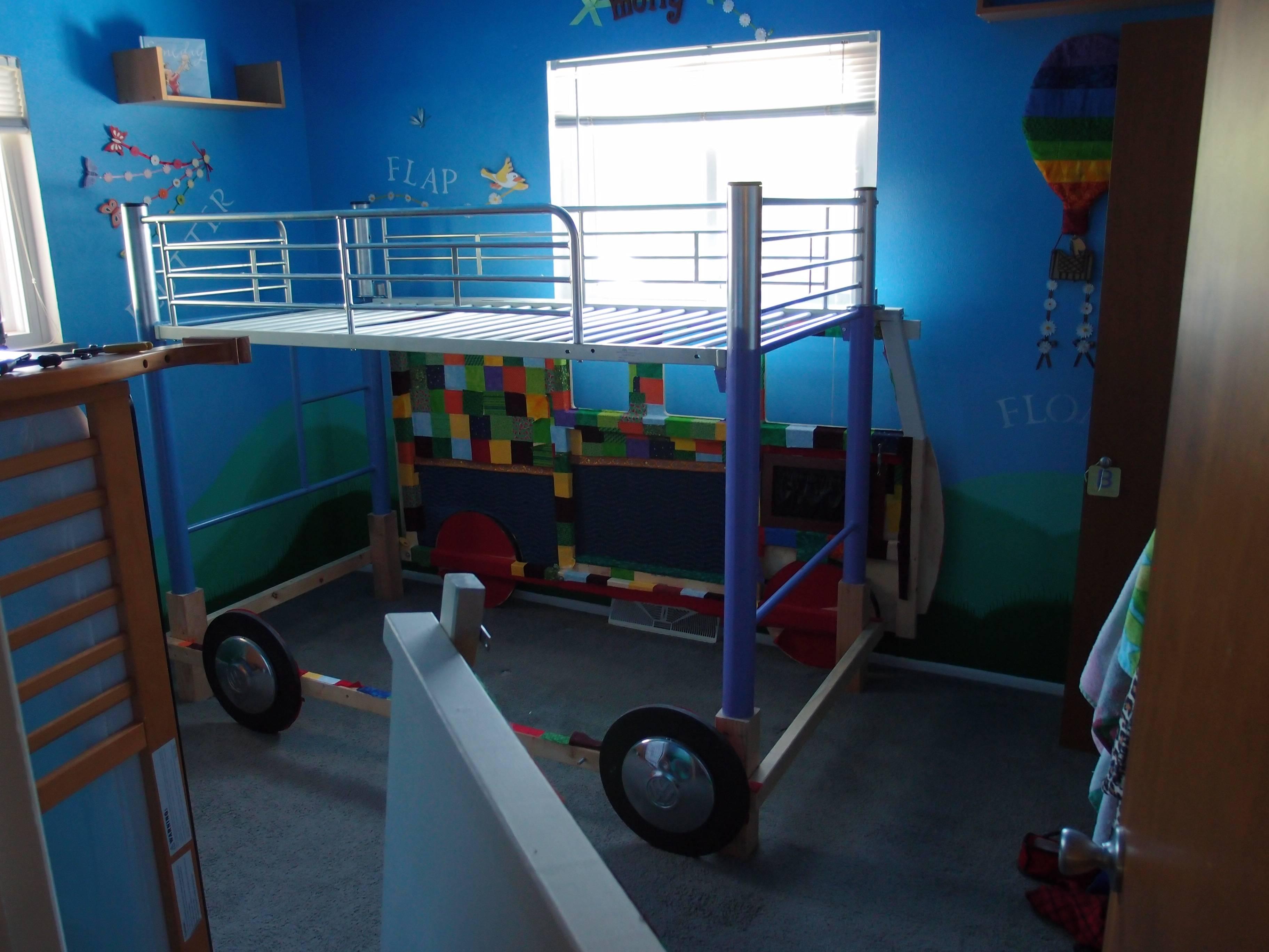cama furgoneta infantil 25