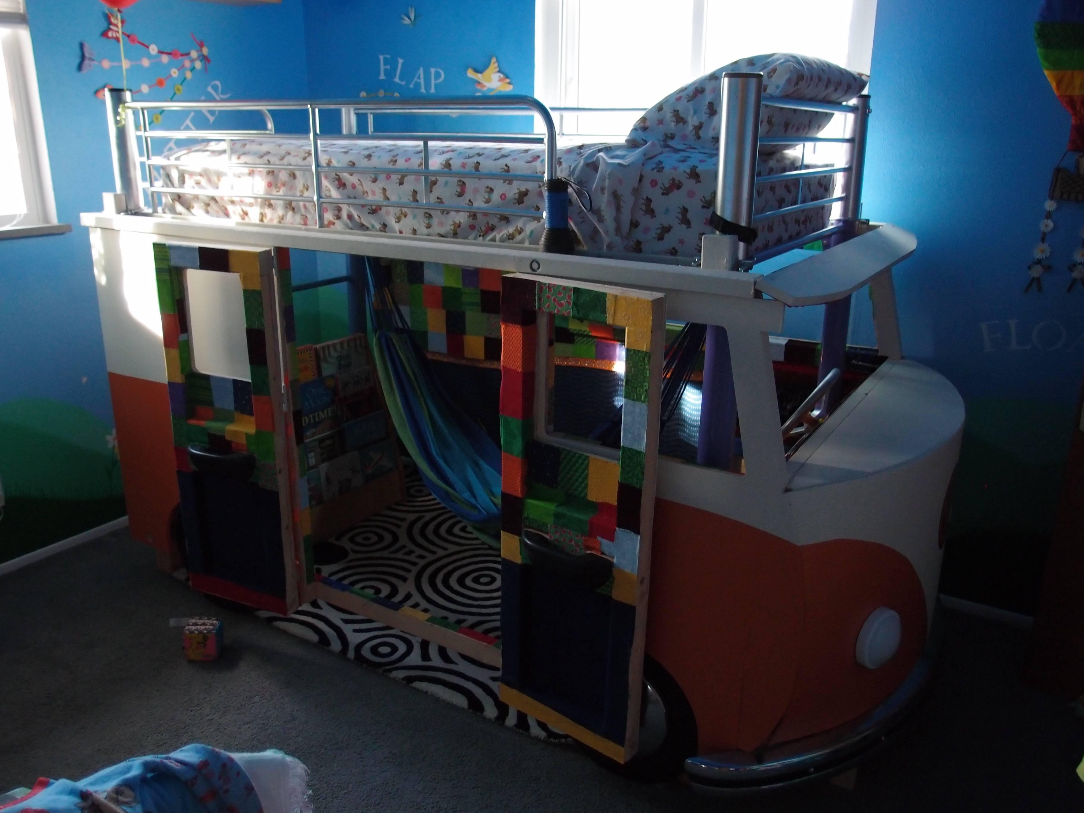 cama furgoneta infantil 26