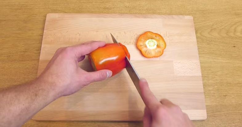 cortar-pimiento
